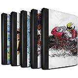Stuff4 Coque/Housse de Livre Cuir PU Case pour Apple iPad Air 2 tablette / Pack 12pcs Design / Fragments Collection