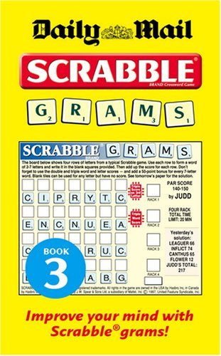 Collins Daily Mail Scrabble Grams: Puzzle Book 3: Puzzle Book No. 3 by VARIOUS (2-Apr-2009) Paperback