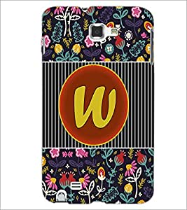 PrintDhaba GRANDbet W D-3145 Back Case Cover for SAMSUNG GALAXY NOTE 1 (Multi-Coloured)