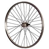 Taylor-Wheels 24 Zoll Hinterrad Büchel Aluminiumfelge Schraubkranznabe silber