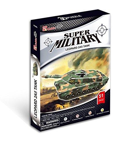 Leopard 2A5 Tank 3D Puzzle