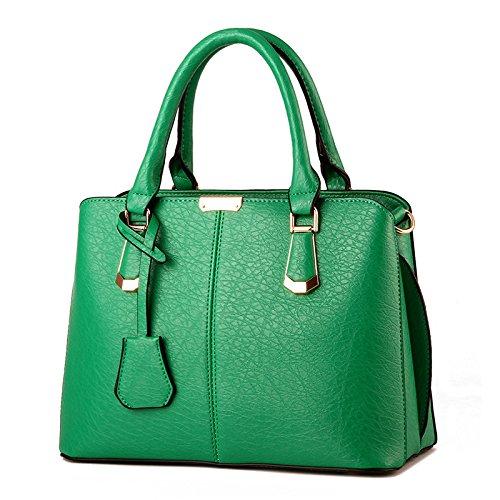Mefly Nuovo Singolo Spalla Borsetta Blu Royal Emerald green
