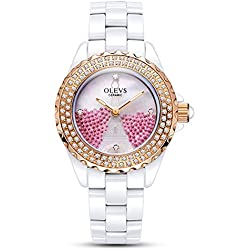 Lady ceramic/French romantic watches/Simple casual watches-I
