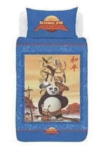 Parure housse de couette Linge de lit Kung Fu Panda