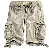 Alpha Industries SHORT 191200_159_33 Bone White