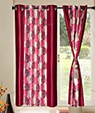 Kings Furnishing Red Polycotton 5ft Wind...