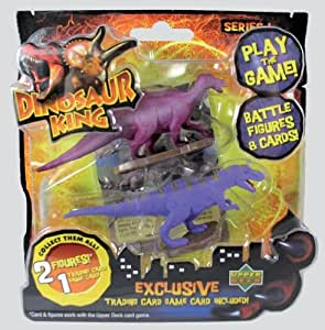 Dinosaur King 2 Pack Figures With Playing Card Amazon