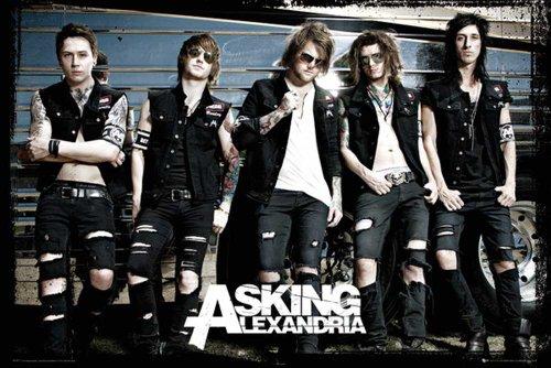 Asking Alexandria-Poster-Bus + Poster a sorpresa