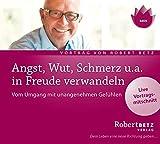 Angst, Wut, Schmerz u.a - in Freude verwandeln - Vom Umgang mit unangenehmen Gefühlen: Live-Vortrag von Robert Betz - Robert T. Betz