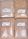 Räuchermehl Räucherspäne Apfel, Kirsche, Erle, Buche Typ3, 4kg, Feinschmeckerpaket