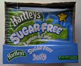Hartleys Sugar Free Jelly Lemon & Lime 12 x 23gm