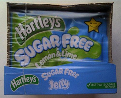 Hartleys Sugar Free Jelly Lemon & Lime 6 x 23gm Test