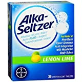 #7: Alka Seltzer Lemon Lime - 36 Effervescent Tablets
