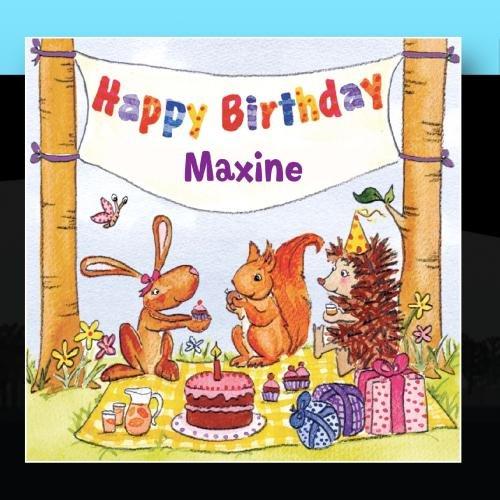 Happy Birthday Maxine (Maxine Happy Birthday)