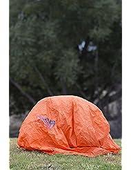 Mountain Warehouse Refugio para tormenta para 2 o 3 personas Naranja Talla única