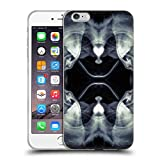 Offizielle PLdesign Schwarz Weisse Galaxie Abstraktes Design Soft Gel Hülle für iPhone 6 Plus/iPhone 6s Plus
