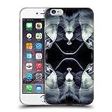 Offizielle PLdesign Schwarz Weisse Galaxie Abstraktes Design Soft Gel Hülle für iPhone 6 Plus/iPhone 6s Plus