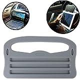 Cenblue Universal Auto Multifunktionstisch Lenkrad Tisch Laptop Schreibtisch - für Auto Ipad Laptop / Essen Lenkrad Schreibtisch (Grau)