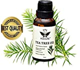 PEECURE Pure Tea Tree Essential Oil For Skin,Acne & Hair For Men