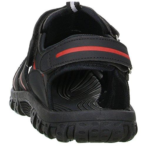 MOZA Outdoorschuhe MOZA Schwarz rot Herren grau X schwarz X Trekkingsandalen 1q5fXww