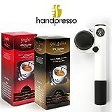 Handpresso - PUMP weiß Esspressomaschine + ESE Pad Sortiment