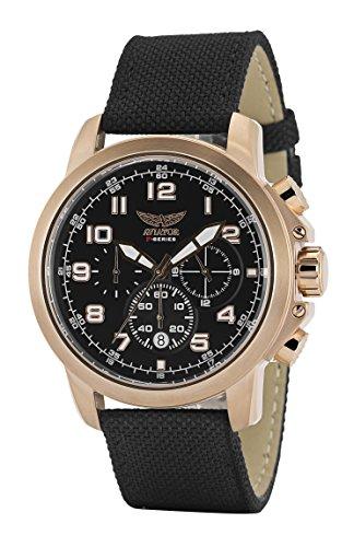 Aviator - Orologio cronografo pilot da uomo serie F