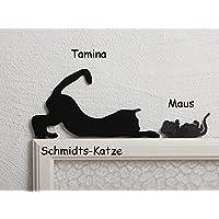 Katze für den Türrahmen