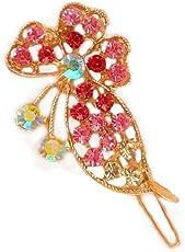 KT Elegant hair pin for women with beautiful shining stones.