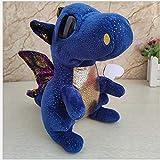 SunLively Deep-Blue Plush Toys Plush Doll Wow Juego de animación de Dibujos Animados Warcraft Murloc Plush Toy Dolls relacionado