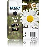 Epson Expression Home XP312 Black Genuine Epson Printer Ink Cartridge - Epson 18 Daisy Series