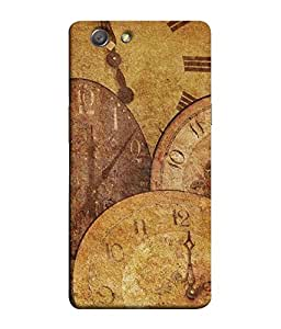 Fuson Designer Back Case Cover for Oppo Neo 7 :: Oppo A33 (Watch Clock Time Traditional classic)