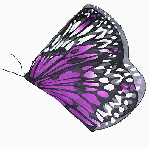 Jaysis Heißer Mode Cosplay Party Chmetterling Kostüm Kinder Kind DIY Schmetterling Kap Flügel Kreative Engelsflügel Dress up Karneval Kostüm 118 * 48CM