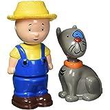 Caillou Collectible Figures - Caillou and Rexy