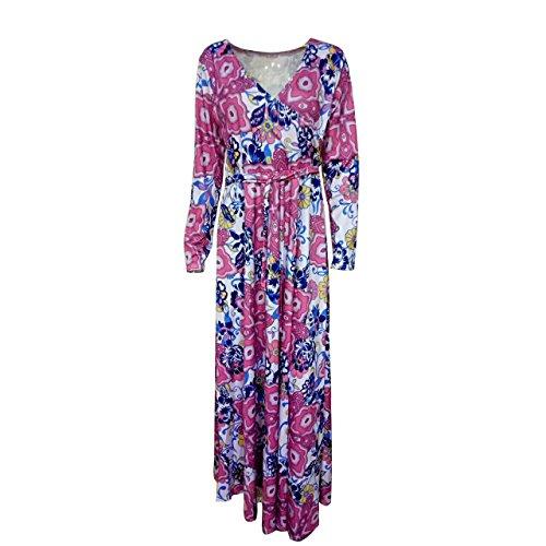 SHISHANG la mode vestimentaire Lady code standard rose, possession de bleu été élevé élastique grande robe jupe robe pink