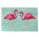 trendaffe Flamingo Fußmatte - Fußabtreter Schmutzfangmatte Türmatte