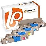 Bubprint 4 Toner kompatibel für OKI C301 C301DN C321 C321DN MC332 MC332DN MC340 MC342 MC342DN MC342DNW Schwarz Cyan Magenta Gelb