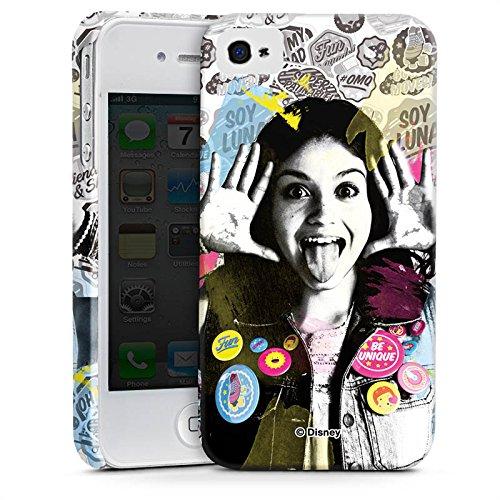 Apple iPhone 5s Silikon Hülle Case Schutzhülle Soy Luna Disney Fanartikel Geschenke Premium Case glänzend