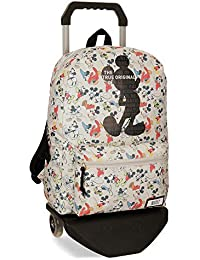Disney True Original - Mochila escolar, 42 cm, 21.5 litros, Multicolor