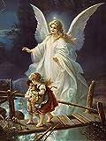 Postereck - 0154 - Schutzengel und Kinder, Altes Gemälde - Poster 4:3 - 40.0 cm x 30.0 cm