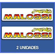 PEGATINAS STICKERS MALOSSI REF: DP595 AUFKLEBER DECALS AUTOCOLLANTS ADESIVI MOTO DECALS MOTROCYCLE (5 CM