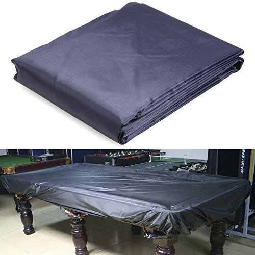 8-Foot Durable Oxford Cloth Pool Table Billiard Cover Deep Blue Lining A6003-3 by Unknown