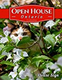 Ontario Canada Open House: An Open House Guest Book /Guest Registry for the Real Estate Professional that includes spaces for guests' signatures, ... numbers and real estate professional's notes.