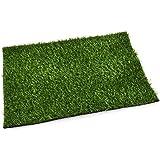 Platz Set Rasen Design Kunstgras 30x45cm grün Trend Floral Deko
