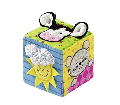 Ravensburger 04470 - Softwürfel Lustige Fingerspiele (Musikalisches Spielzeug Baby)