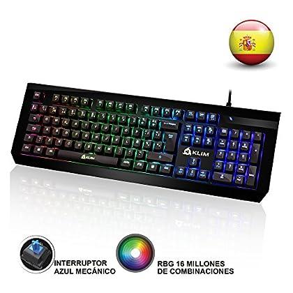 KLIM Domination - Teclado Mecánico RGB ESPAÑOL ...