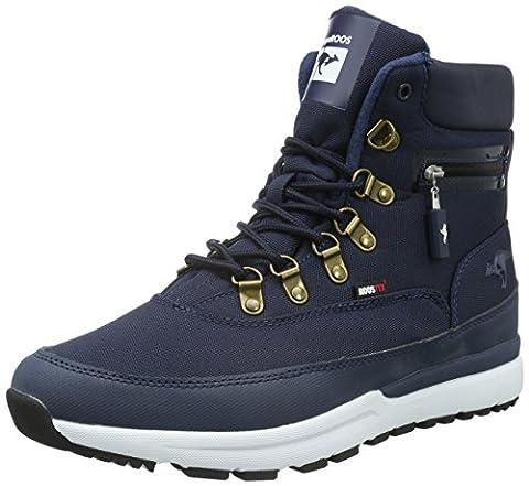KangaROOS Unisex-Erwachsene Woodhollow Light Kurzschaft Stiefel, Blau (Navy 460), 44 EU