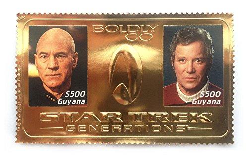 extrem-selten-offiziell-lizenzierte-star-trek-generations-24-karat-blattgold-miniatur-briefmarkenbog
