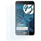 Bruni Schutzfolie für ASUS Fonepad 7 (FE375CL) Folie - 2 x glasklare Displayschutzfolie