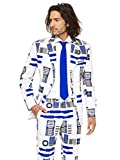 Opposuits STAR WARSTM Men's Suit - Official R2-D2TM Costume Comes With Pants, Jacket and Tie, R2-d2TM, 50