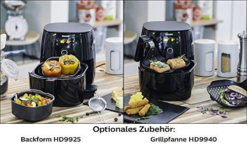 Philips Airfryer Turbostar HD9641/90 Heißluftfritteuse